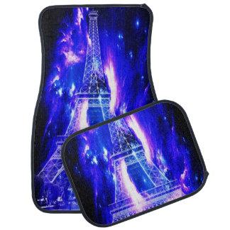 Tapis De Voiture Rêves de Paris de saphir d'améthyste