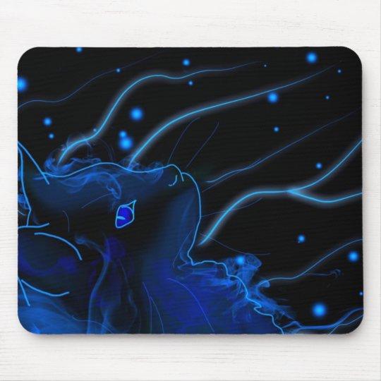Tapis souris maine coon néon tapis de souris