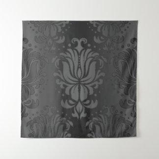 Tapisserie florale de mur de damassé de gradient