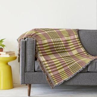 Tartan classique, plaid couverture