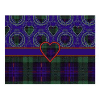 Tartan d'écossais d'Armstrong Carte Postale