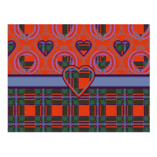 Tartan d'écossais de Drummond Carte Postale