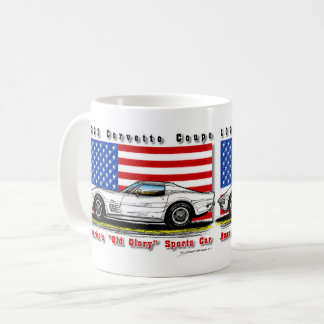 Tasse 1972 de café de coupé de Corvette