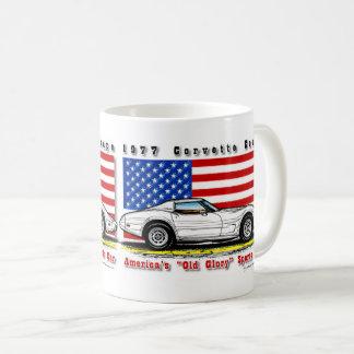 Tasse 1977 de café de Corvette