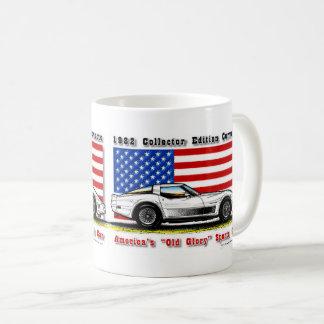 Tasse 1982 de café de Corvette d'édition de