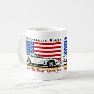 Tasse 1982 de café de coupé de Corvette