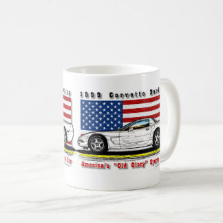 Tasse 1999 de café de hard-top de Corvette
