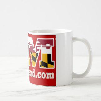 Tasse 2018 rouge de logo du Maryland