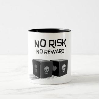 Tasse 2 Couleurs Aucun risque, aucune récompense