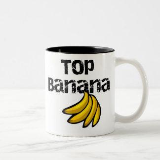 Tasse 2 Couleurs Banane supérieure