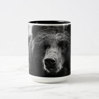 Tasse 2 Couleurs Bel ours gris