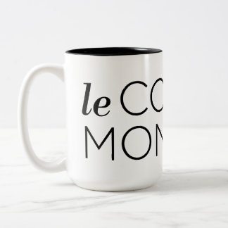 Tasse 2 Couleurs Black le Cooqui Monstre