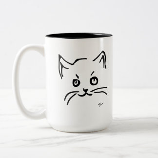 Tasse 2 Couleurs Chaton - Adolf Lorenzo