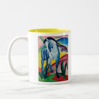 Tasse 2 Couleurs Cheval bleu I par Franz Marc