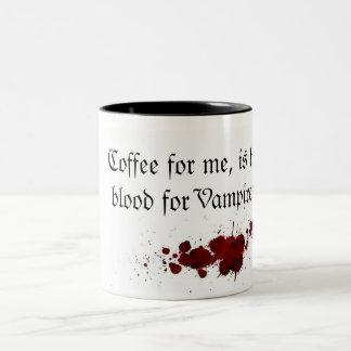 Tasse 2 Couleurs Coffee as Blood