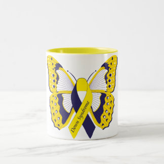 Tasse 2 Couleurs Down Syndrome Awareness