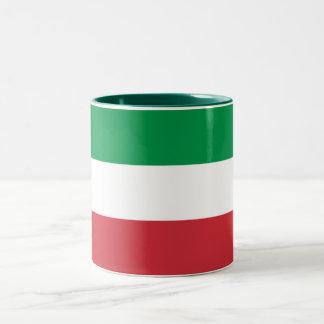 Tasse 2 Couleurs Drapeau italien patriotique