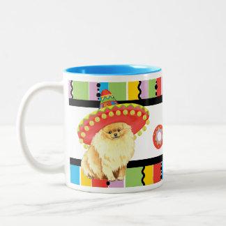 Tasse 2 Couleurs Fiesta Pomeranian