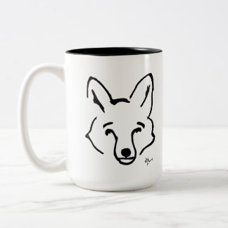 Tasse 2 Couleurs Fox - Adolf Lorenzo