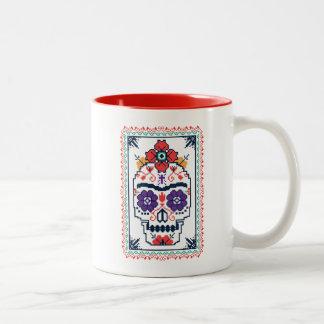 Tasse 2 Couleurs Frida Kahlo | Calavera