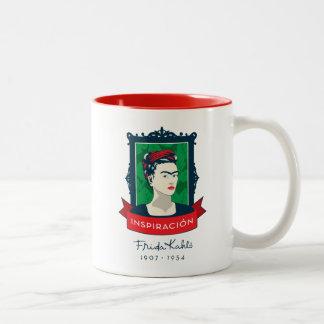 Tasse 2 Couleurs Frida Kahlo | Inspiración