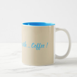 Tasse 2 Couleurs Intoxiqué de café