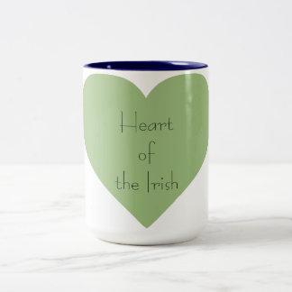 Tasse 2 Couleurs Irish_Heart of_St.Patrick Jour-Quotidien