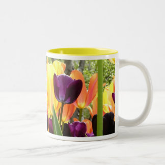 Tasse 2 Couleurs Jardin II de tulipe