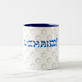 Tasse 2 Couleurs L'Chaim