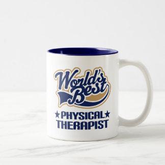 Tasse 2 Couleurs Le meilleur physiothérapeute des mondes