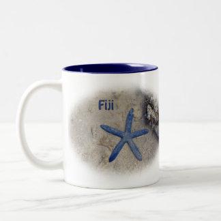 Tasse 2 Couleurs Les Fidji Seastar (étoiles de mer)