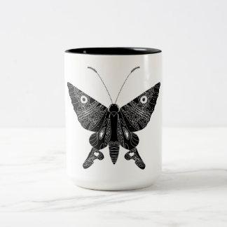Tasse 2 Couleurs Papillon