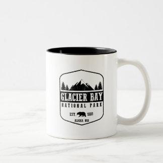 Tasse 2 Couleurs Parc national de baie de glacier