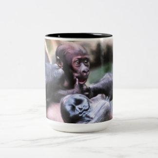 Tasse 2 Couleurs Petit gorille