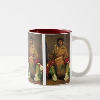 Tasse 2 Couleurs Portrait de Dieguito Roybal par Robert Henri