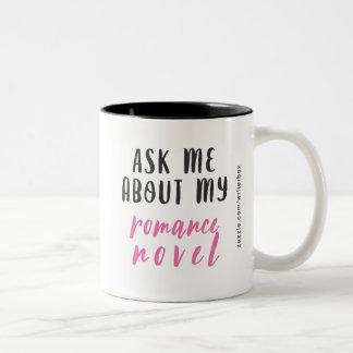 Tasse 2 Couleurs Roman Romance (Blanc-Rose-Noir)