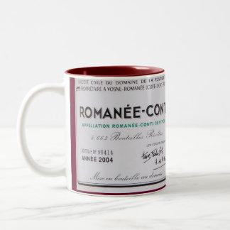 Tasse 2 Couleurs Romanee-Conte