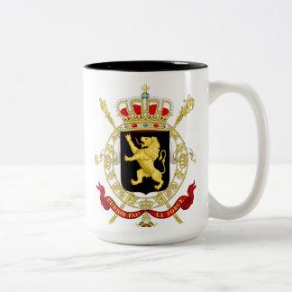 Tasse 2 Couleurs Royaume de Belgique - Koninkrijk België