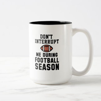 Tasse 2 Couleurs Saison de football