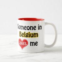 Someone dans Belgium loves me