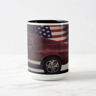 Tasse 2 Couleurs Voiture americana