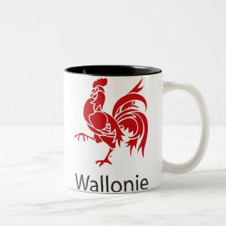 Tasse 2 Couleurs Wallonie Belgique
