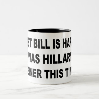 Tasse 2 Couleurs Weiner de Hillary