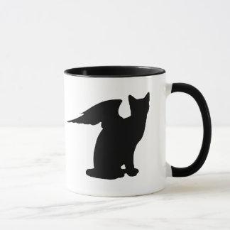 Tasse à ailes de chat