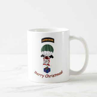 Tasse aéroportée de Père Noël