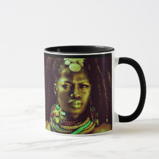 Tasse africaine de la Reine