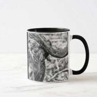 Tasse africaine de portrait de Buffalo de cap