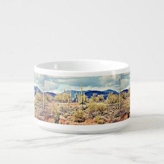 Tasse agréable de piment de paysage de Saguaro de Bol Pour Chili