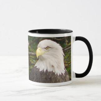 Tasse américaine d'Eagle chauve
