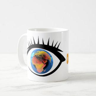 Tasse atavisionary d'oeil du monde
